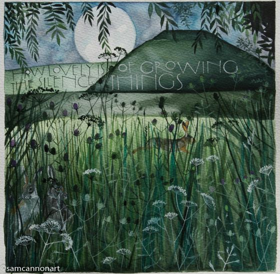 Sam Cannon 'How lovely is the silence of growing things'