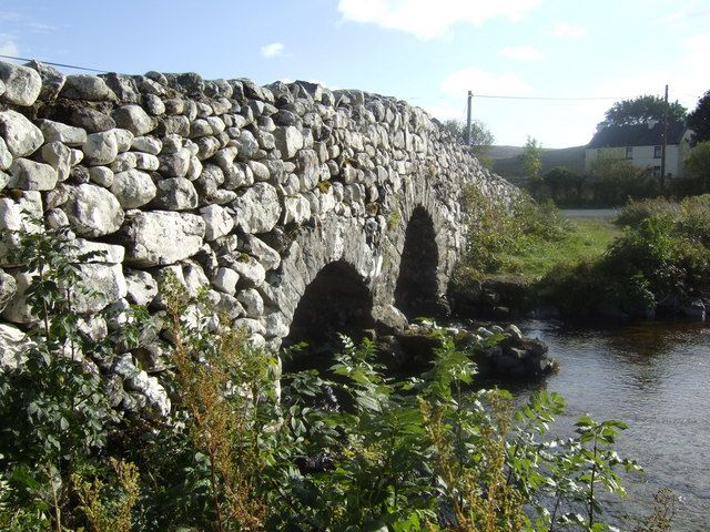 "The ""Quiet Man"" Bridge (Rusheeny, Galway, Ireland) featured in the film ""The Quiet Man"" shot in this area in 1951. The film starred Maureen O'Hara and John Wayne, and is regarded as one of the top 100 films ever made."