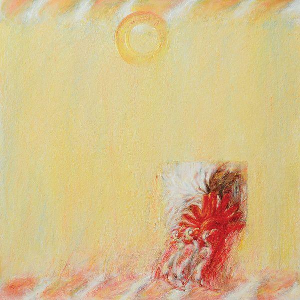 BALANCE Oil on canvas, 100 x 100 cm