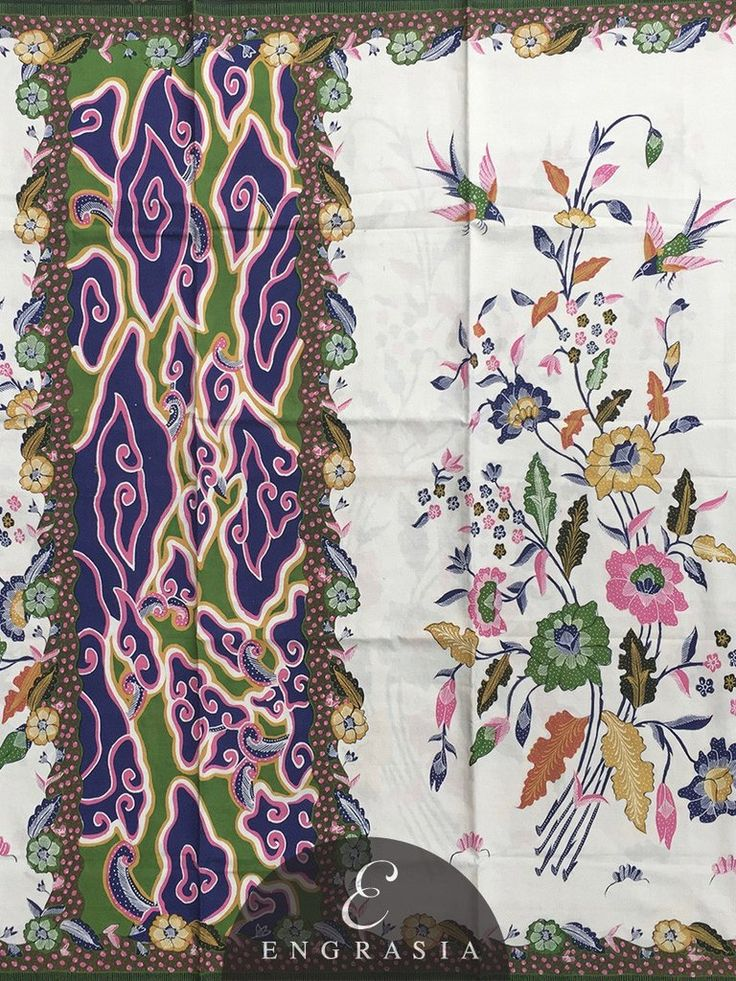 Batik Tulis Cirebon KA-BAT-CI-W-2732 – Engrasia