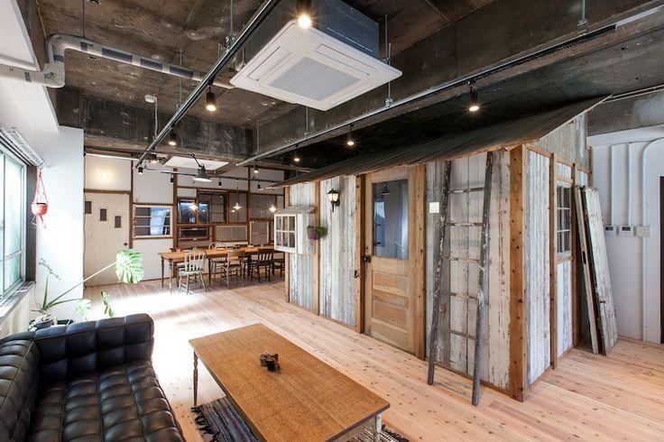 名古屋港近くの築地口という場所にシェアハウス 「KOMA-PORT / tsukijiguchi」が出来ました。