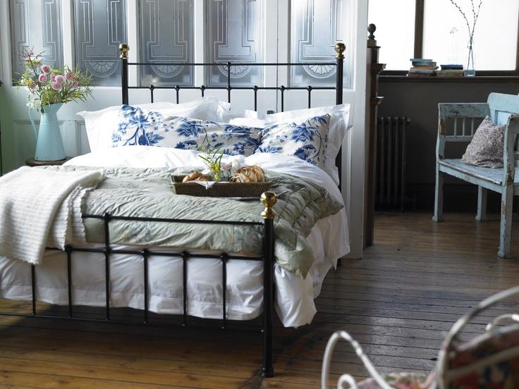 Black Wrought Iron Headboard Bedroom: Austen King Size Metal Bed In Black £740 Http://www.sofa