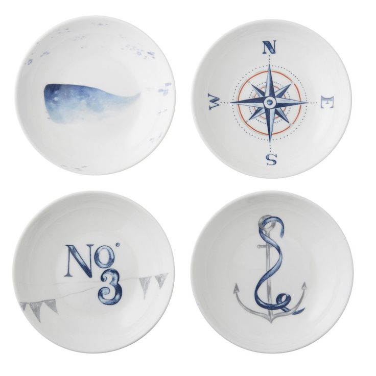 Port Royal Condiment Dish Set - Father's Day Gift Ideas