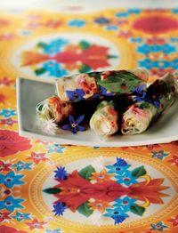 Vietnamese summery rolls