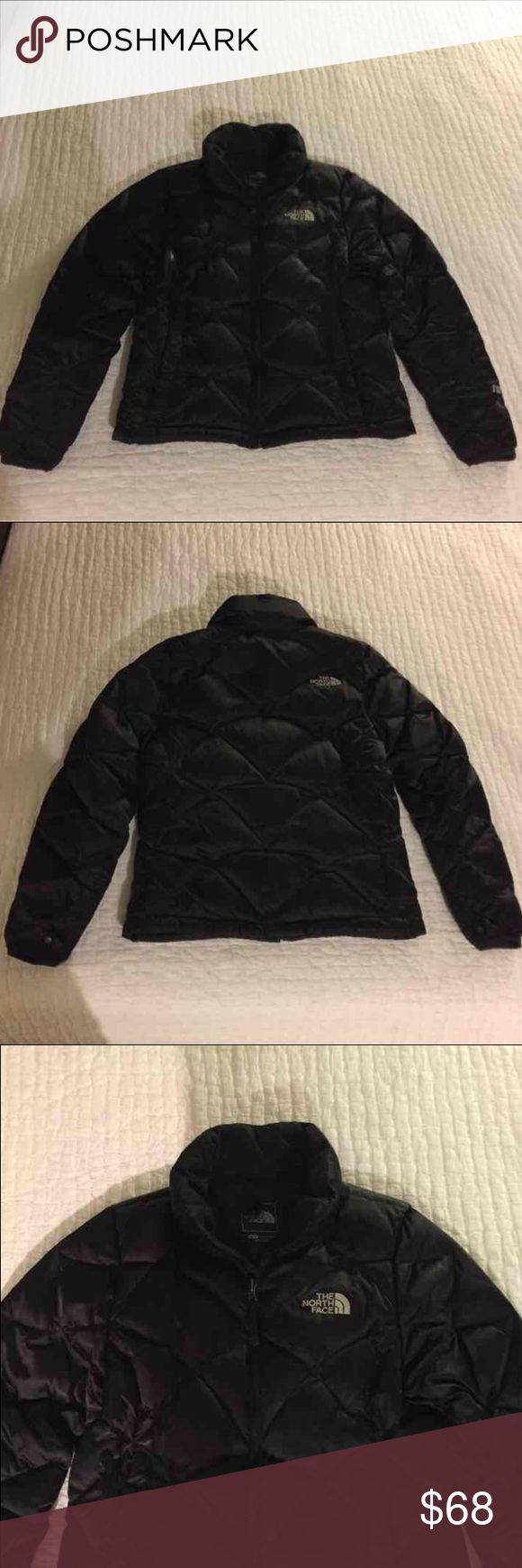 SALE!!!!!   Black The North Face coat New black 500 feather count The North Face winter coat.  Excellent condition. The North Face Jackets & Coats Puffers