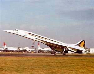 Singapore Airlines Concorde. (1979)