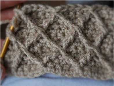 ... bien en la foto point de jersey au crochet tip crochet sin agujeros 3