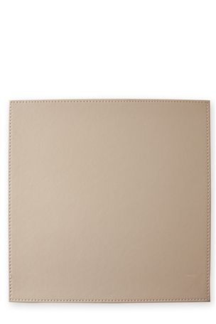 Faux Leather Mat Set £15