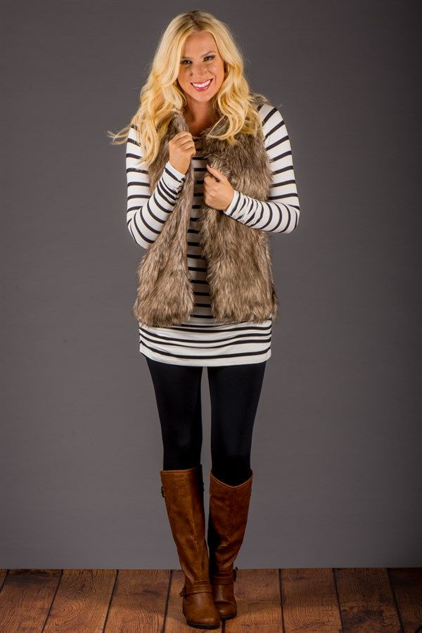 Striped Tunic with Side Rouching! | Jane