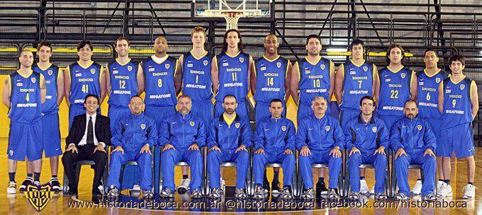 Temporada 2006/2007. El plantel de basquet, el último que salió campeón de la Liga Nacional