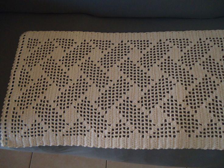 Passadeira em Crochet | Crochet no Ponto | Elo7