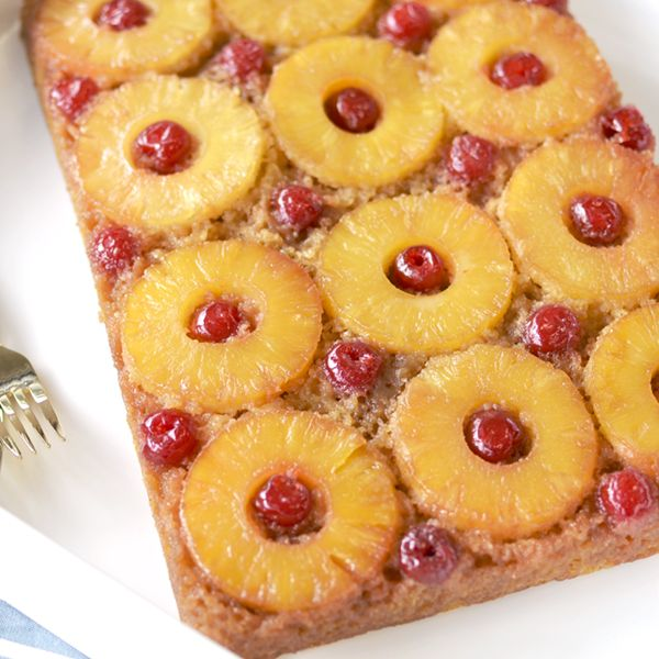 Land O Lakes Pineapple Upside Down Cake