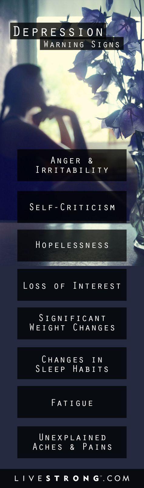 "Depression symptoms aren�t as simple as �feeling sad."" Here are the most common, yet often unrecognized, symptoms. (scheduled via http://www.tailwindapp.com?utm_source=pinterest&utm_medium=twpin&utm_content=post191146591&utm_campaign=scheduler_attribution)"