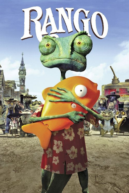 Rango movie. It had Johnny Depp in it but it was still kind of stupid I just couldn't get into it any of the 4 attempts.