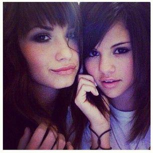 Demi Lovato and Selena Gomez