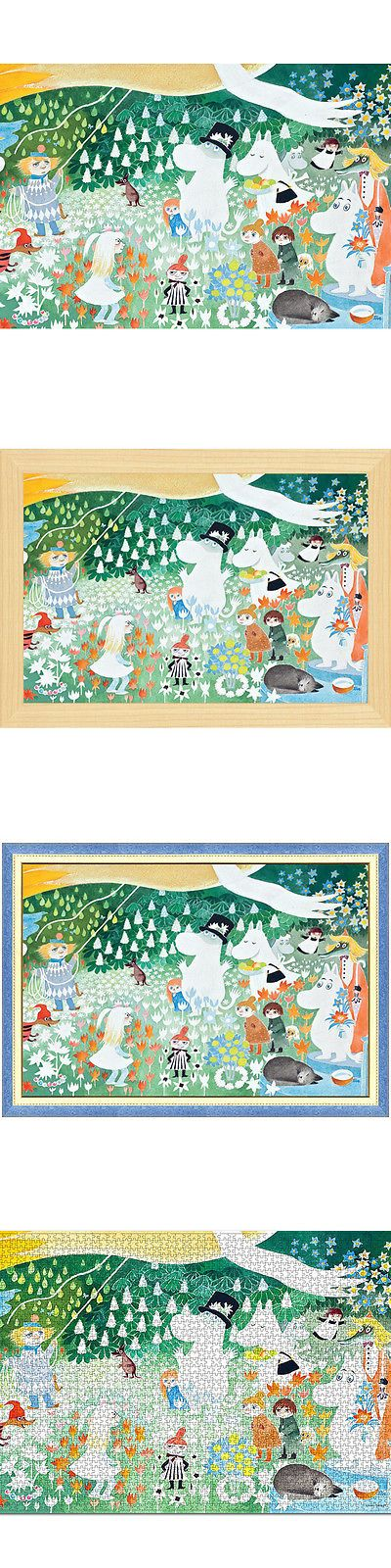 Jigsaw 19183: Tove Jansson Moomin Party In The Moomin Valley 2000 Piece Mini Jigsaw Puzzle -> BUY IT NOW ONLY: $32.99 on eBay!