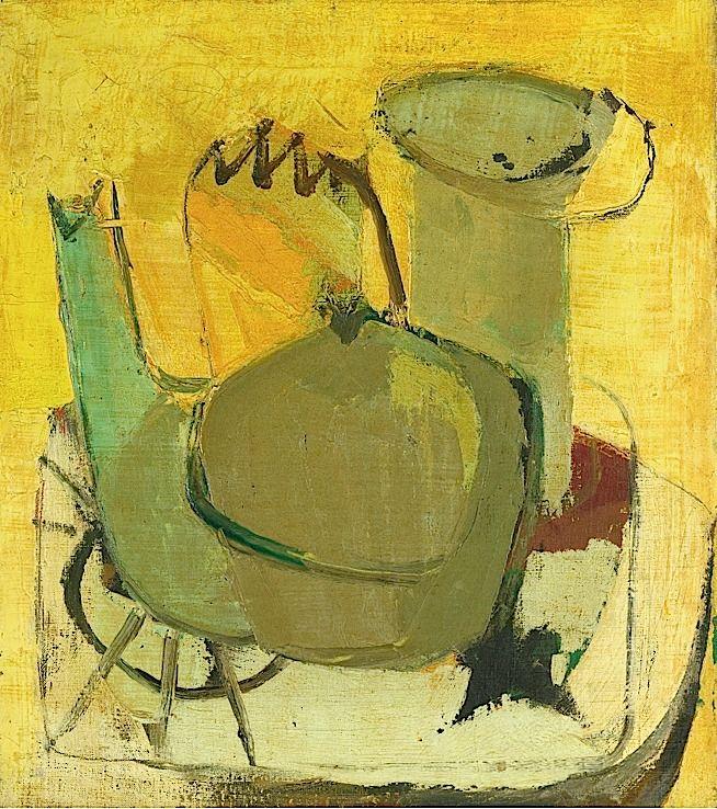 FRANZ KLINE 1910 - 1962 Teapot