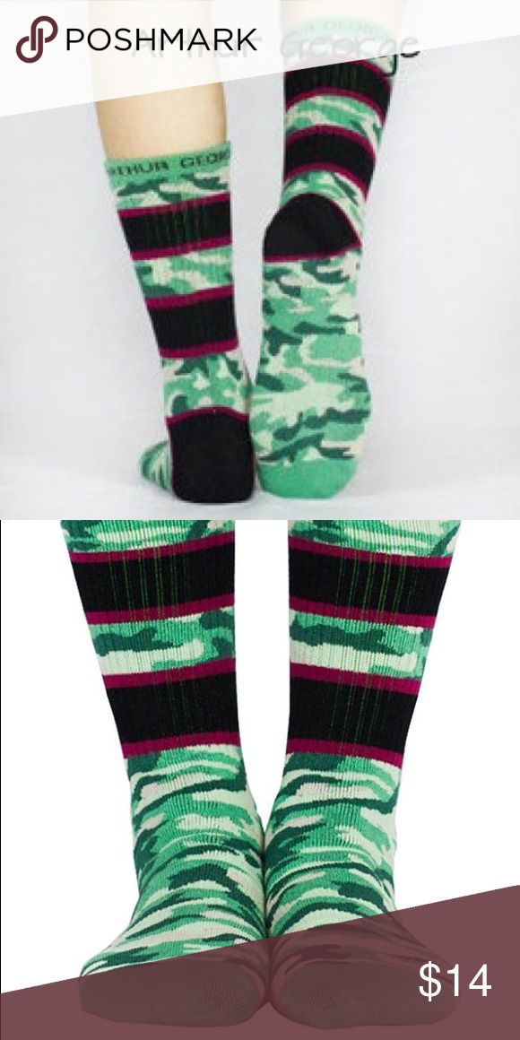 """Arthur George socks by Robert Kardashian - """"Camo"""" Size: 5-11  Arthur George socks by Robert Kardashian are famous for their comfort, style, and unapologetic attitude. Express yourself! Arthur George Accessories Hosiery & Socks"""