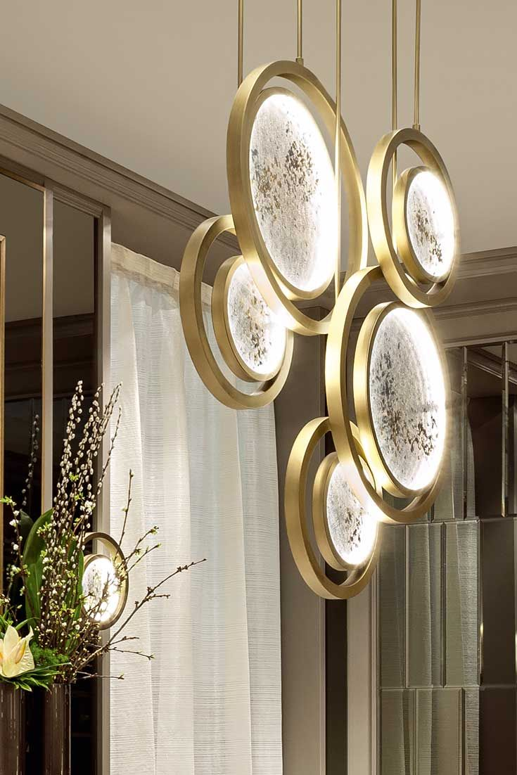 Discover the Exclusive Italian Designer Suspended Ceiling Light at Juliettes Interiors, a luxurious modern design offering unmistakable Italian style and elegance for any interior.