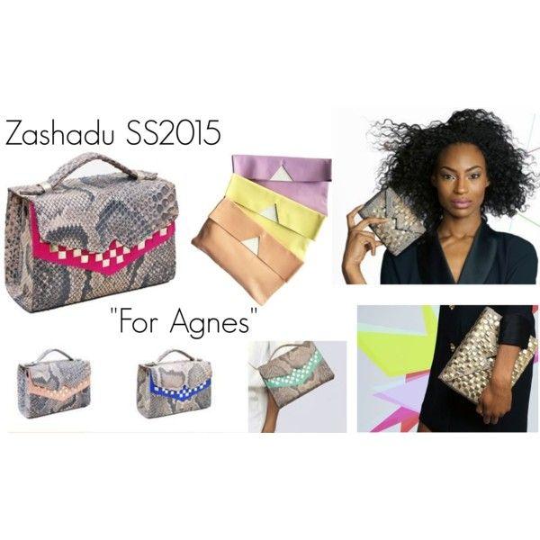"""Emerging designers / Designer emergenti - Zashadu SS2015 ""For Agnes"""" by cocolavieenrose on Polyvore"