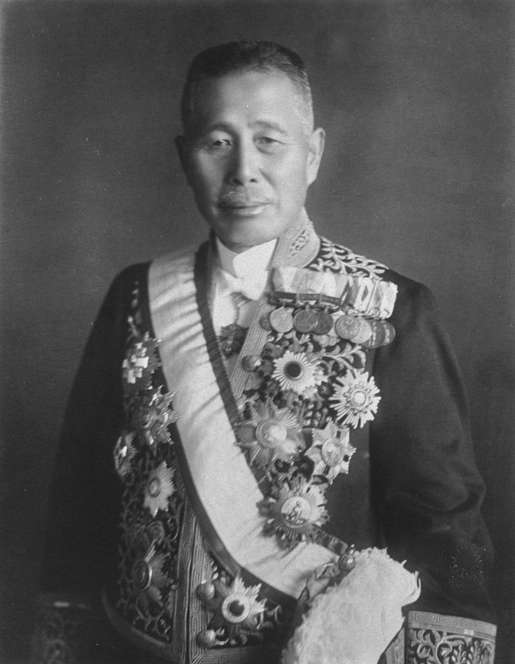Tanaka Giichi, Japanese Imperial Army general. Later a prime minister in the Shōwa period.
