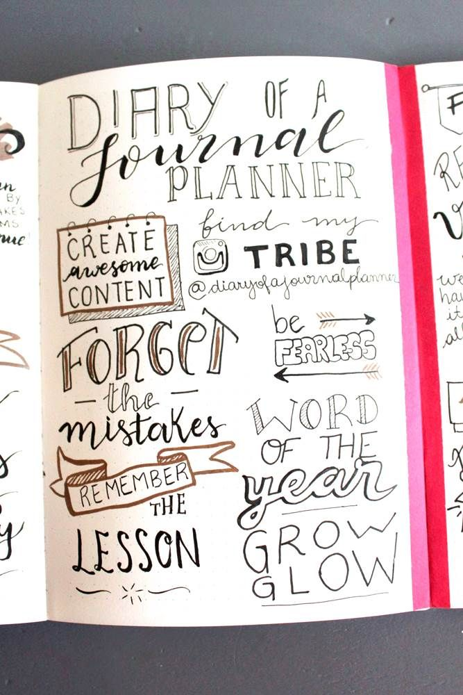 Bullet Journal Vision Journal (Create a Journal Vision Board