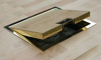 700 Series - Brass Bronze and Stainless Steel cavity and screed boxes for stone marble tile infill