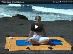Una clase completa de Yoga en video  para principiantes para hacer en casa. El Yoga es uno de los ejercicios mas recomendados  para contrarrestar el estrés y mejorar la fertilidad para ayudarte a quedar embarazada.