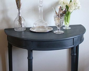26 best demilune tables images on Pinterest Console tables