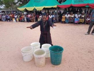 Ebonyi Pastor Turns Cold Water Into Hot Water