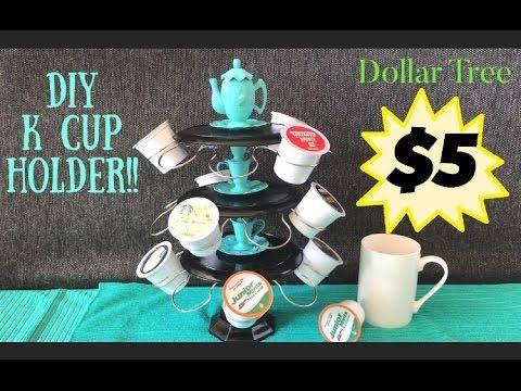 Dollar Tree DIY K Cup Holder                                                                                                                                                                                 More