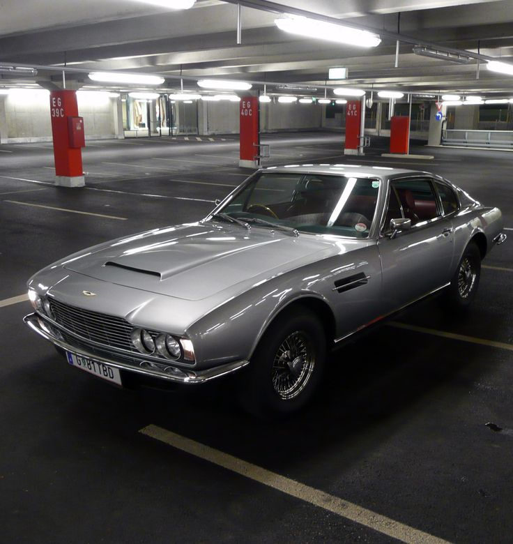 1970 Aston Martin DBS - so much style! I wouldn't drive it, just keep posing on it