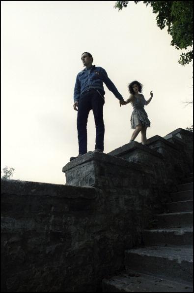 Win & Regine on the edge