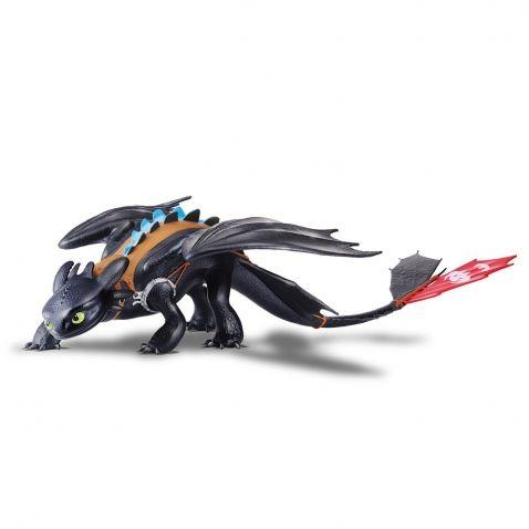 Jak vycvičit draka - Velká figurka Bezzubka, Alfa drak, 60 cm