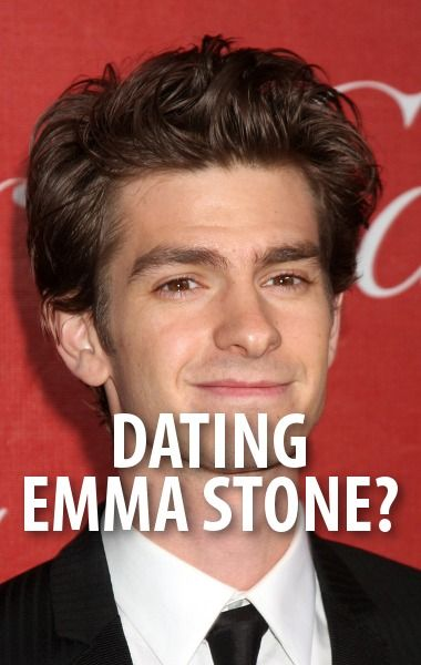 Andrew Garfield talked about dating co-star Emma Stone from The Amazing Spider-Man 2, which comes out May 2 2014.  http://www.recapo.com/good-morning-america/gma-celebrities/gma-andrew-garfield-girlfriend-emma-stone-spider-man-stunts/