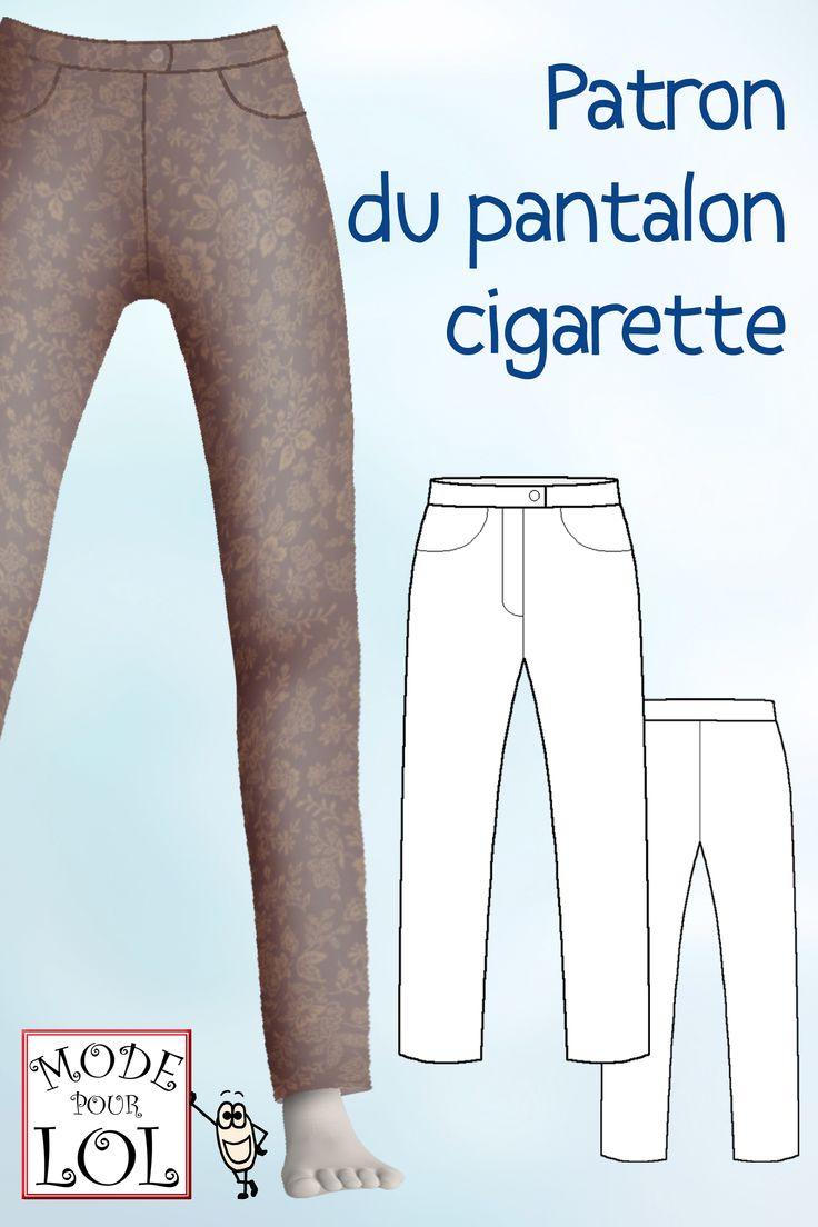 Le patron du pantalon cigarette