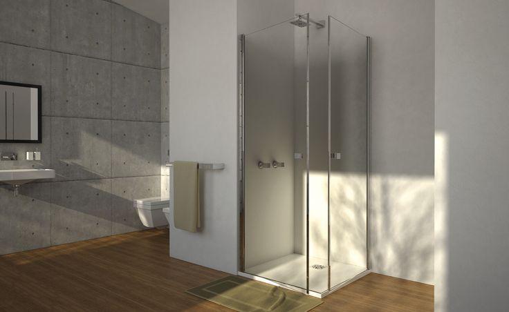Il vero comfort è un comodo #boxdoccia perfetto per tutti i tuoi attimi di relax. #Serie4000 di @boxdocceduebi  Design for All -  www.gasparinionline.it -  #shower #doccia #bagno #relax #interiors #doccia #designlovers