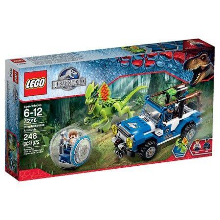 LEGO® Jurassic World Dilophosaurus Ambush 75916 : Target