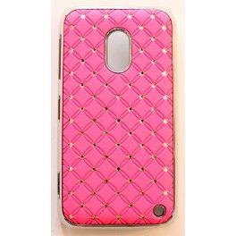 Nokia Lumia 620 hot pink luksus kuoret.