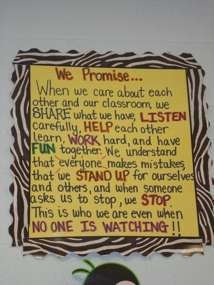 site full of anchor charts and bulletin board ideas