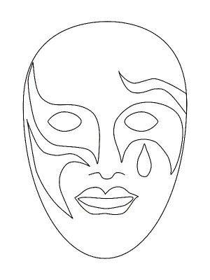 37 best Masks coloring book images on Pinterest | Malvorlagen ...