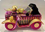 Машинка-карапуз из шоколада