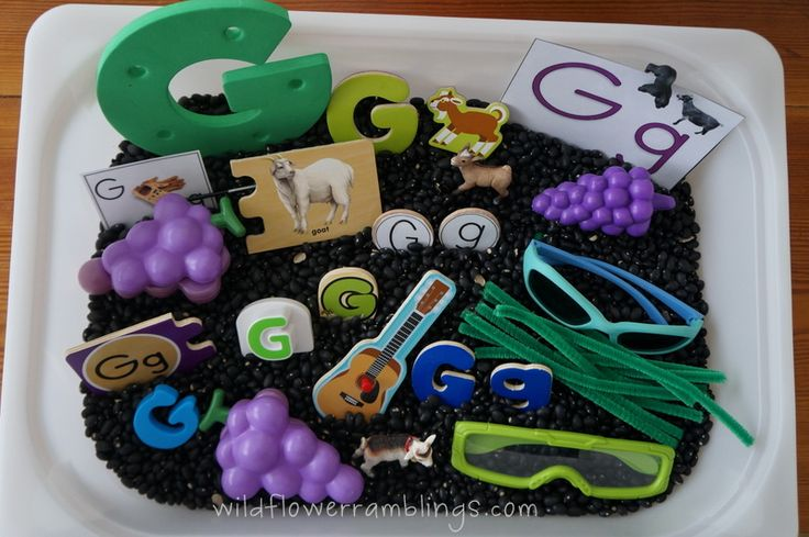 Teaching letters and sounds in MANY ways