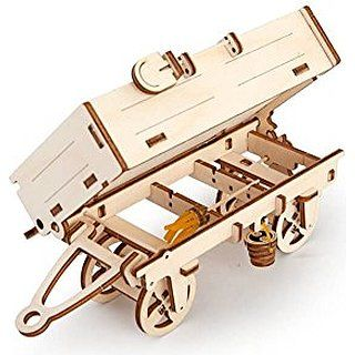 Trailer - Unique Glue Free Eco Friendly Wooden Mechanical Self Assembly Moving…
