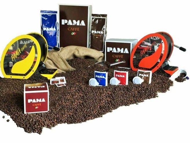 Pama Caffè la storica torrefazione di caffè alla napoletana presenta le miscele di prima qualità in grani, in capsule e in cialde.