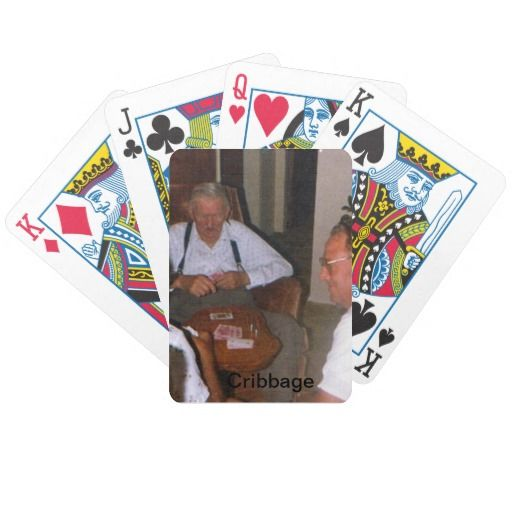 Grandfather Cribbage Playing Cards #grandfather
