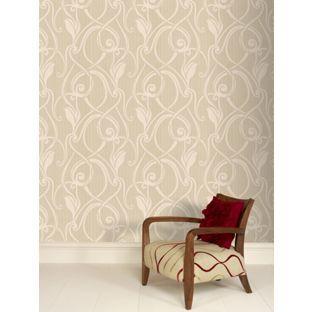 Best Wallpaper Ideas Images On Pinterest Wallpaper Ideas - Brown and cream wallpaper
