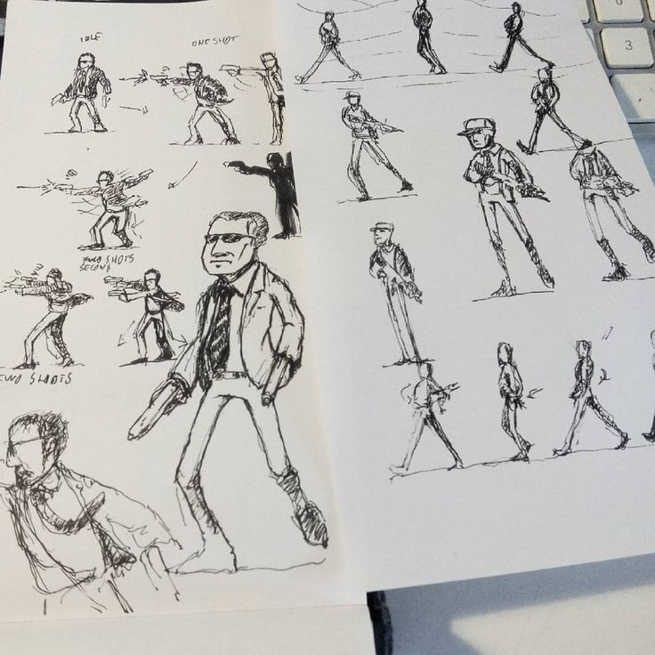 More sketchs for the game without name!!  .  .  .  #sketching #sketch #sketchbook #sketches #drawingoftheday #drawing #animation #games #gaming #indiegames #indiegame #gamedesign #gameart #gameartist #gamedev #gamedeveloper #gamedeveloper...