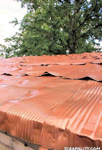 17 Best Images About Unusual Roofing Materials On