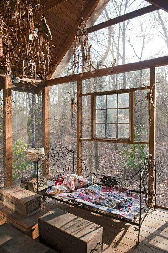 the glass windows...